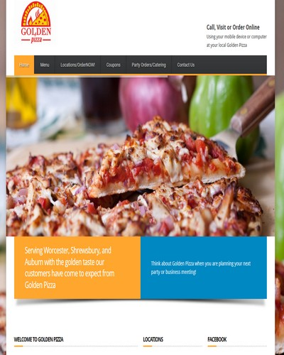 small business website design restaurants