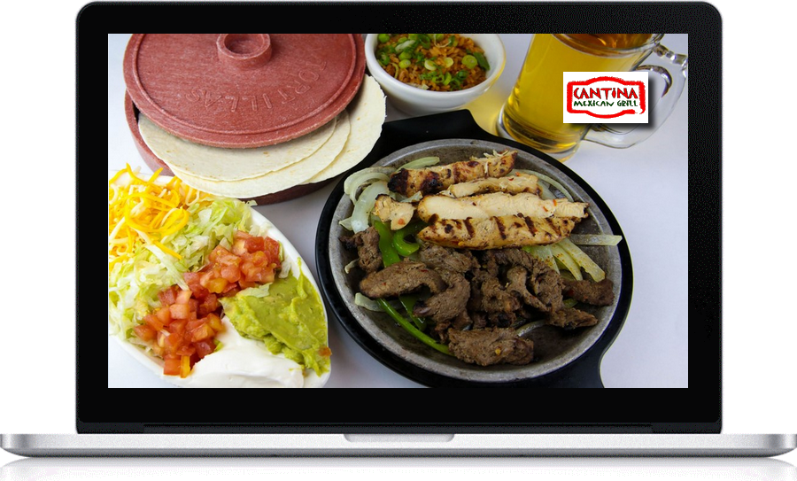 Cantina Mexican Grill uses local company Pegasus Ventures for web site design