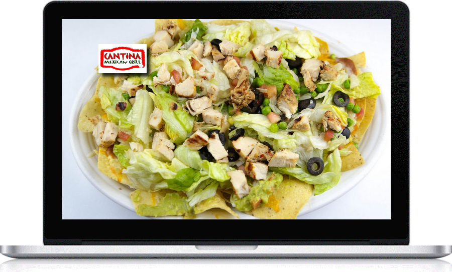 Small business website development Pegaus Ventures Michigan employed by Cantina Mexican Grill