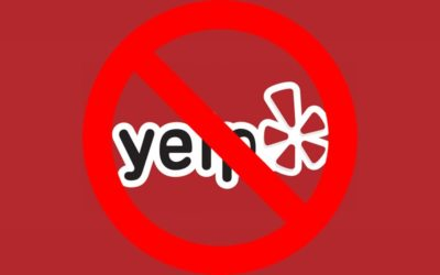 Ignore Yelp? What are you talking about, Mr Web Guy?