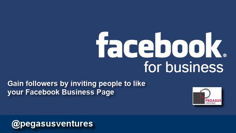 Inviting Facebook users to follow your Facebook Business page