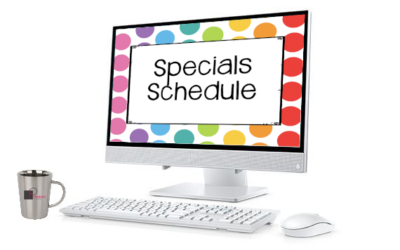Grow sales: Rotating specials to increase website and social media traffic